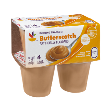 Ahold Butterscotch Pudding Snacks - 4 CT