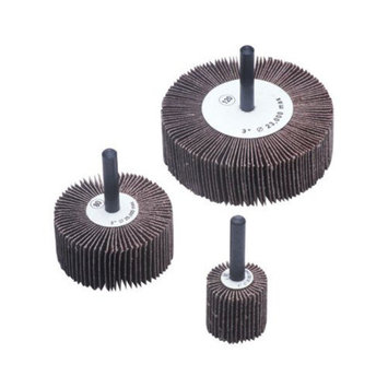 CGW Abrasives Flap Wheels - 2x1x1/4 alum oxide 60 grit flap wheel (Set of 10)