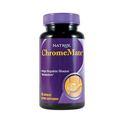 Natrol ChromeMate 200 mcg Dietary Supplement Capsules