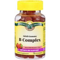 Spring Valley Adult Gummy B-Complex Vitamin Supplement Gummies