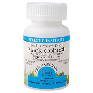 Eclectic Institute Inc Black Cohosh 185 Mg 185 Mg 100 Caps