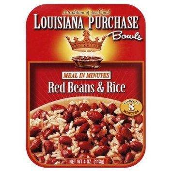 Louisiana Purchase Rice Bowl Red Bean, 4-Ounce (Pack of 6)