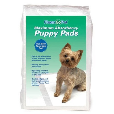 Clean Go Pet Maximum Puppy Absorbency Pad, 30-Pack