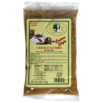Chef Hans' Gumbo Seasoning Mix, 6-Ounce Packs (Pack of 12)