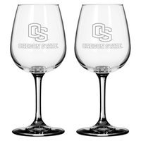 NCAA Oregon State Beavers Boelter Brands 2 Pack Satin Etch Wine Glass - 12