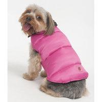 Fashion Pet Athletic Track Warm Up: Large - Gray