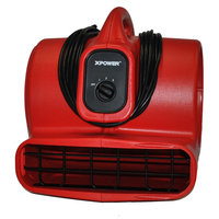 Sierra Accessories XPOWER 1/4 HP Professional Air Mover & Dryer