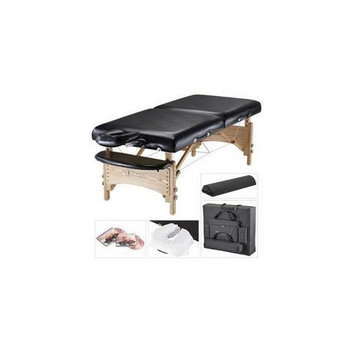 MHP Master Massage 22274 32 inch Gibraltar LX Portable Massage Table Package- Perfect for larger clients