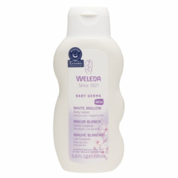 Weleda Baby White Mallow Body Lotion, 6.8 fl oz