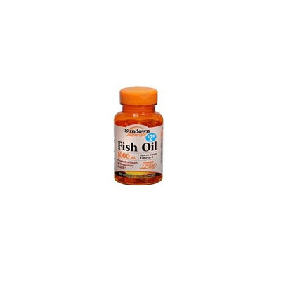 Sundown Naturals Sundown Fish Oil 1000 MCG Naturally contains Omega3