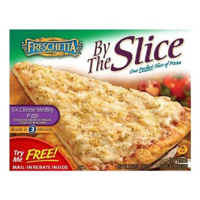 Freschetta By the Slice Six Cheese Medley Pizza 6.49-oz.