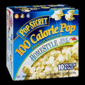 Pop-Secret 100 Calorie Pop Homestyle Microwave Popcorn - 10 CT