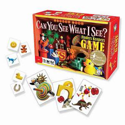 Gamewright Can You See What I See? Finders Keepers Game Ages 4 and up, 1 ea