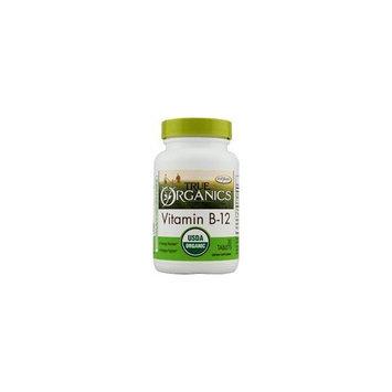 Enzymatic Therapy True Organics Vitamin B12 Tabs, 30 ct