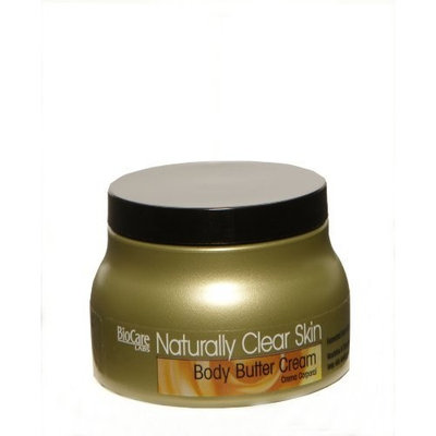 BioCare Labs Naturally Clear Skin Body Butter Cream, 8 fl oz., 236ml