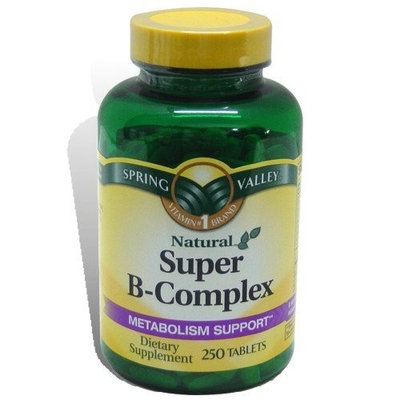 Spring Valley - Super B-Complex, 250 Tablets