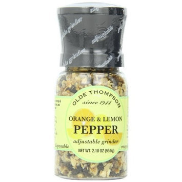 Olde Thompson e Thompson Orange & Lemon Pepper, 2.1-Ounce Grinders (Pack of 2)