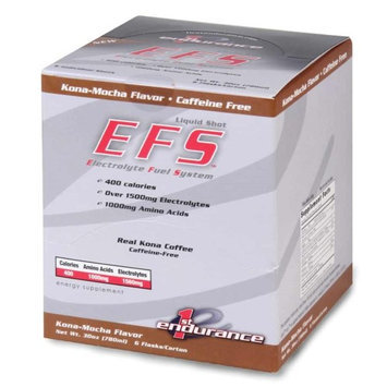 First Endurance EFS Liquid Shot - 6 Pack One Color, Kona Mocha
