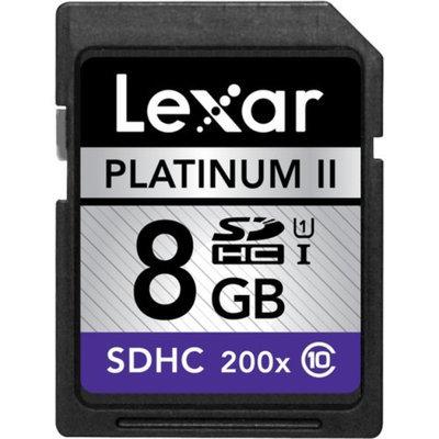 Lexar LSD8GBBSBNA200C1 8GB Platinum II 200x SDHC Memory Card, Class 10