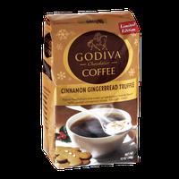 Godiva Cinnamon Gingerbread Truffle Medium Roast Ground Coffee