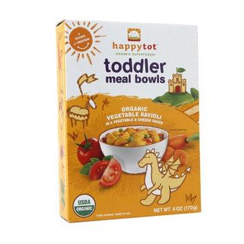 Happy Tots Organic Toddler Meal Bowls Vegetable Ravioli