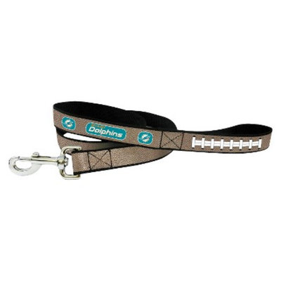 GameWear Miami Dolphins Reflective Football Leash - S