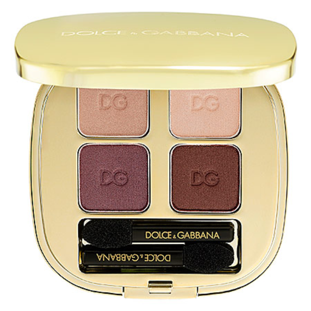 Dolce & Gabbana The Eyeshadow Smooth Eye Colour Quad Contrasts 140