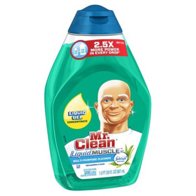 Mr. Clean Liquid Muscle Febreze Meadows & Rain Scent Liquid Gel Multi-