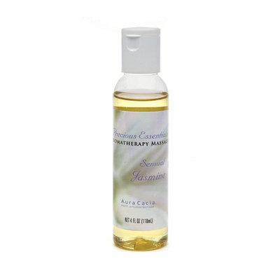 Aura Cacia Precious Essentials Aromatherapy Massage Oil Sensual Jasmine