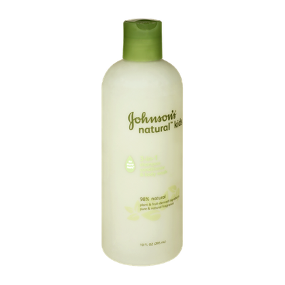 Johnson's® Natural Kids 3-in-1 Shampoo Conditioner & Body Wash
