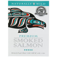 Alaska Smokehouse Premium Smoked Salmon, 4 Ounce Gift box