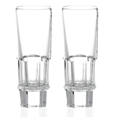Baccarat Set of 2 Abysse Vodka Glasses