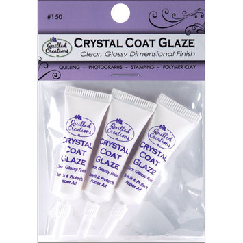 Quilled Creations Quilling Clear Coat Glaze 3/Pkg NEW