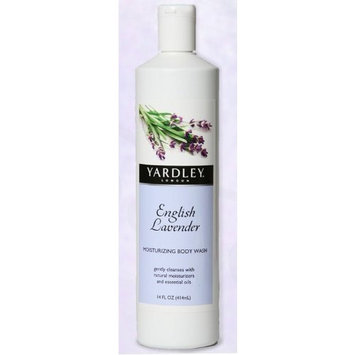 Yardley of London Yardley English Lavender Moisturizing Body Wash, 14 Oz