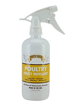 Durvet Rooster Booster Poultry Insect Repellent Spray 16 oz.
