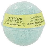 Hugo Naturals Fizzy Bath Bomb, Sea Fennel and Passionflower, 6 Ounce
