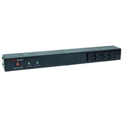 CyberPower Cyberpower Rackbar Surge Suppressor RM 1U RKBS20ST4F10R 20A 14-Outlet