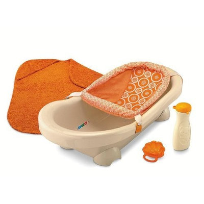 Fisher-Price Dreamsicle Collection Bath Center, Tan/Orange (Discontinued by Manufacturer)