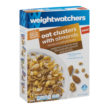 Weight Watchers Cereal Oat Clusters with Almonds