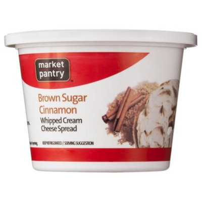 market pantry Market Pantry Whipped Brown Sugar Cream Cheese 8 oz