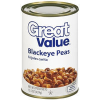 Great Value Blackeye Peas, 15.5 Oz