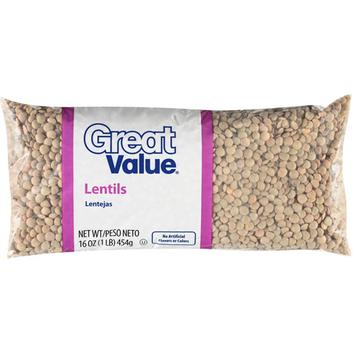 Great Value :  Lentil