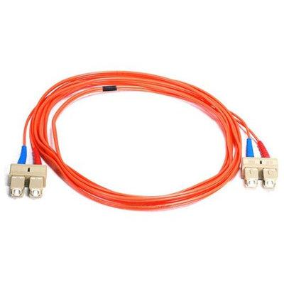 Monoprice Fiber Optic Cable, SC/SC, OM1, Multi Mode, Duplex - 3 meter (62.5/125 Type) - Orange