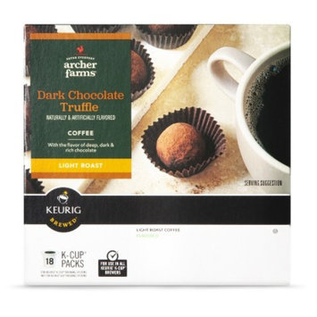 Archer Farms Dark Chocolate Truffle Coffee K-Cups 18 ct
