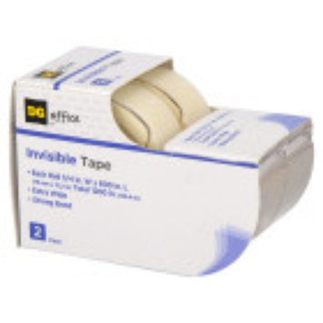 Dg Office DG Office Invisible Tape, 2 pack