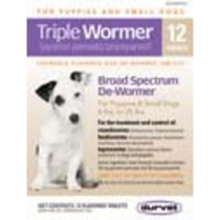 Durvet Triple Puppy and Small Dog Wormer