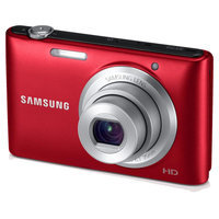 Reconditioned Samsung HD 16.2MP Digital Camera with 5x Zoom and 3 in. LCD (RED) - EC-ST72ZZBPRUS