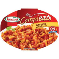 Hormel Compleats Lasagna with Meat Sauce, 10-Ounce Microwavable Bowls, 6 Count