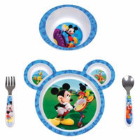 The First Years Disney Mickey Mouse 4 pc Feeding Set, 1 ea