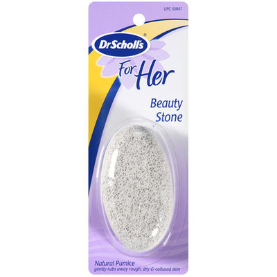 Dr. Scholl's For Her Natural Pumice Beauty Stone, 1ct